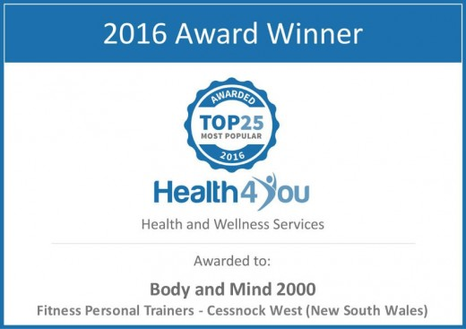 Health 4 You Most Popular Award